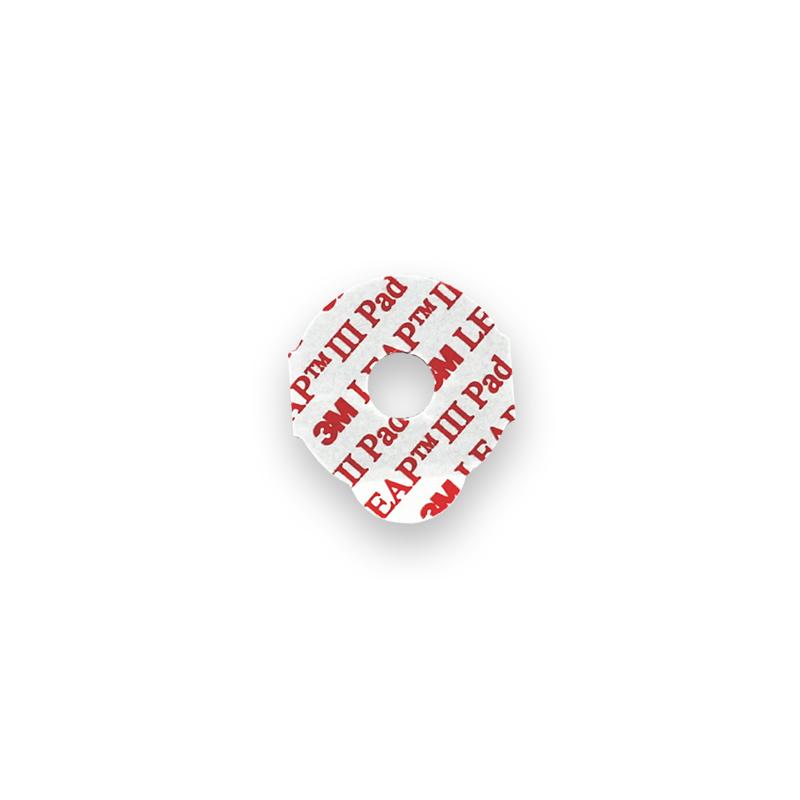 pastille adhésive pour glant en plastique pa111