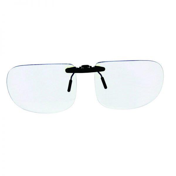clip de lunette contre la lumière bleue