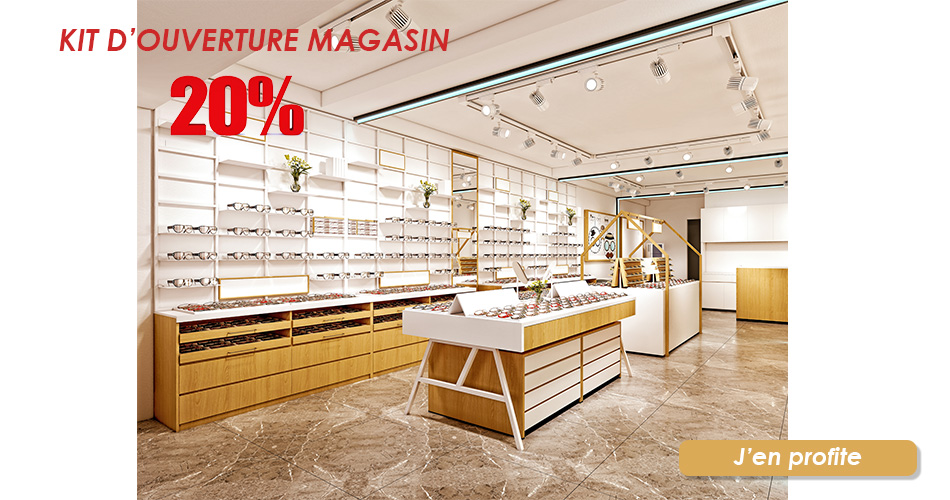 Kit ouverture magasin