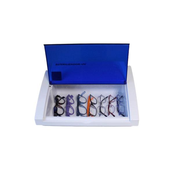 sterilisateur-UV-avec-montures-de-lunettes