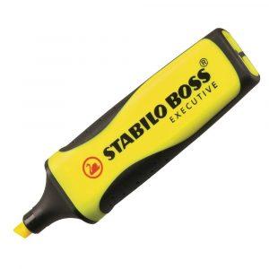 surligneur-stabilo-bosse-executive-jaune